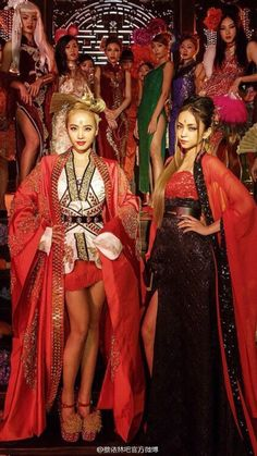 jolin tsai and namie amuro Japanese Beauty, Asian Beauty, Divas, Jolin Tsai, Too Faced Peach, Peach Palette, Anime Songs, Oriental, Chinese Clothing