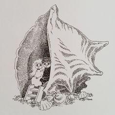 """Et mere fra den skønne bog """"Hvem skal trøste Knytten"""" #tovejansson #tosomhed #atværemodigeforhinanden"""