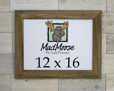 Barn Wood Picture Frame [style: Thin x Barn Wood Picture Frames, Nail Holes, Style, Frames, Swag, Outfits
