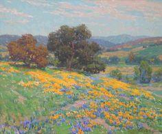 Granville Redmond - Artist, Fine Art Prices, Auction Records for Granville Redmond