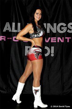 Hot Falcons Cheerleader #1