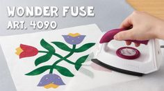 All new Tool School! Featuring Clover's Wonder Fuse. Follow the link, for a video tutorial and project with the Wonder Fuse.