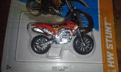 HOT WHEELS 1:64  2013 STUNT  HW450F MOTORCYCLE #HotWheels