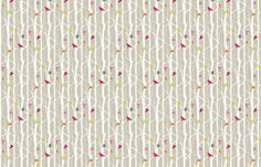 birdhouse fabric by troismiettes on Spoonflower - custom fabric