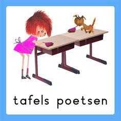 tafels poetsen School Organisation, Classroom Organization, Daily Schedule Preschool, Schedule Cards, Google Ads, A Classroom, Working With Children, Home Schooling, Summer School