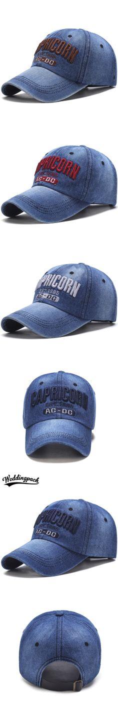 67d6fdd2f71 Cowboy Women Snapback Caps Letter Embroidery Couple Caps Summer Autumn  Denim Unisex Baseball Cap Hip Hop Men Bone Casquette Hats