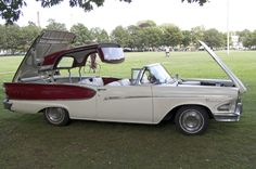 '58 Edsel Pacer Retractable Hardtop Convertible, modified from a Ford retractable.