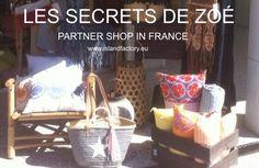 Les secrets de zoe, partner shop in Bassin dÁrcachon. France.