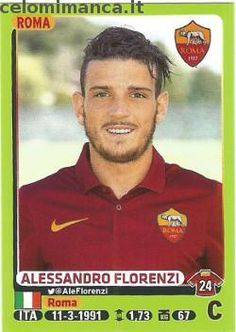 Calciatori 2014-2015: Fronte Figurina n. 409 Alessandro Florenzi