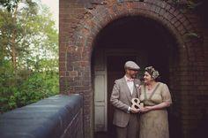 Quirky Couple Portraits,Vintage Jewellery Details, Handmade Weddings, May Wedding, Spring Wedding, Vintage, Chalk Lane Hotel, Tadworth Village Hall, Surrey, Rebecca Douglas Photography