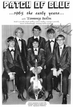 Tommy's first band - 1965