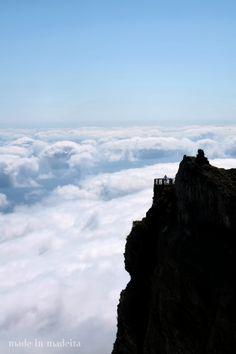 Pico do Areeiro-madeira, Portugal