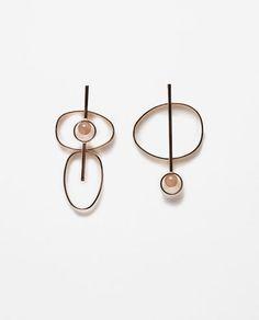Image 1 of CIRCULAR EARRINGS from Zara