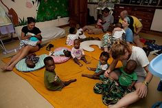 Crisis Nursery. Home for children up to the age of 2 who either their mom's died in childbirth, their families could not afford to feed them or they were orphans.