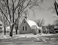 Chilly Chapel: 1936