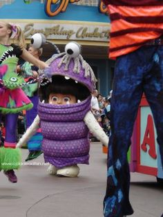 """Seeing the """"Boo"""" character in costume at Disneyland would make me smile.  =o)))"""