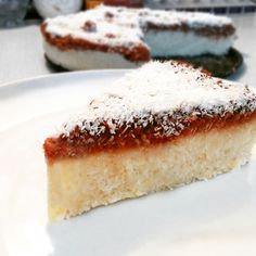 Healthy Desserts, Healthy Recipes, Vanilla Cake, Fitness, Cheesecake, Food And Drink, Cooking, Health Desserts, Kitchen