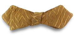 Diamond Point Bow Tie by J. Thomson