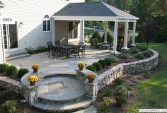 Design for backyard