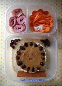 Keeley McGuire: Lunch Made Easy: SunButter Rice Cake   #GlutenFree #NutFree #Bento