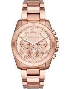 Looking for Michael Kors Women's Brecken Rose Gold-Tone Watch ? Check out our picks for the Michael Kors Women's Brecken Rose Gold-Tone Watch from the popular stores - all in one. Michael Kors Rose, Michael Kors Jewelry, Michael Kors Watch, Stainless Steel Jewelry, Stainless Steel Watch, Jet Set, Bracelets, Jewelry Watches, Gold Watches