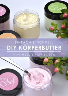 Pure care make your own body butter Fast, easy and .- Pflege pur selbst Körperbutter machen Schnell einfach und ein echter Vorteil Pure care – make your own body butter. Fast, easy and a real advantage … - Skin Care Masks, Diy Skin Care, Neutrogena, Whipped Body Butter, Natural Cosmetics, Diy Beauty, Luxury Beauty, Beauty Box, Beauty Skin