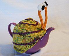 Ravelry: Snail tea cosy pattern by Anke Klempner