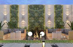 Rooftop Terrace Design, Terrace Garden Design, Balcony Design, Roof Design, Garden Wall Designs, Backyard Pool Designs, Modern Backyard Design, Modern Exterior House Designs, Exterior Design