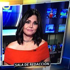 @nataliacruznews @primerimpacto informe de Natalia desde la sala de redacción Feliz inicio de semana ❤️❤️😊😊😘😘