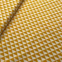 Driehoek oker-wit