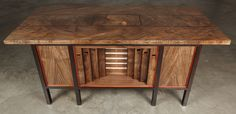 You have to check this out.  It's a puzzle desk and functioning organ.  You have to unlock puzzles to open the drawers which are the bellows for the organ.  ABSOLUTELY BEAUTIFUL!!!!!