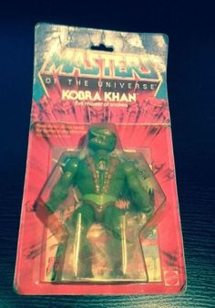 Masters Of The Universe (He-man) Kobra Kahn Action Figure - CARDED (1983)