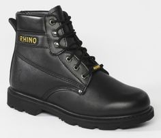 60s21 Rhino 6 inch Steel Toe Safety Work Boot Review - Work Wear Safety Work Boots, Steel Toe Work Boots, 6 Inches, Timberland Boots, Black Boots, Work Wear, Hiking Boots, How To Wear, Stuff To Buy