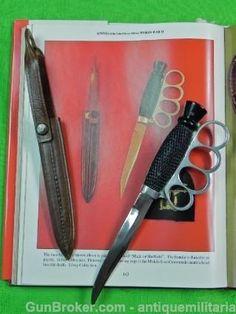 Rare Sheffield English Knuckle Knife i