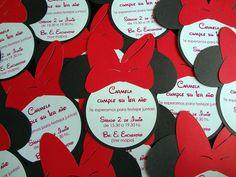 Mickey & Minnie invitations -  invitaciones
