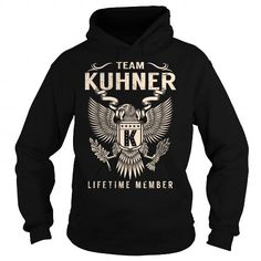 I Love Team KUHNER Lifetime Member - Last Name, Surname T-Shirt T shirts