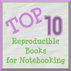Top Ten Reproducible Books for Notebooking