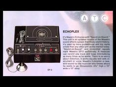 Maestro Echoplex. Demonstration Record 1972
