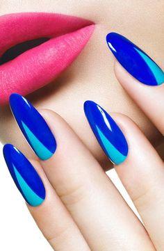 50+ Blue Nail Art COOLlections - Nail Polish AddictedNail Polish Addicted