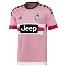 285f3ac9c11 Adidas Juventus  15- 16 Away Soccer Jersey (Pink Black White)