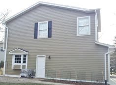 James Hardie Fiber Cement Siding: Woodstock Brown, installed by Opal Enterprises in Naperville, IL!