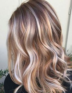 Trendy Hair Highlights : Ideas for Light Brown Hair Color with Highlights and Lowlights ★ See more:… Balayage Ombré Blond, Hair Color Balayage, Balayage Highlights, Haircolor, Blonde Color, Darker Blonde, Hair Bayalage, Different Shades Of Blonde, Blonde Shades