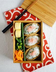 Inari-sushi bento/稲荷寿司弁当