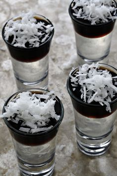 Mounds Jello Shot
