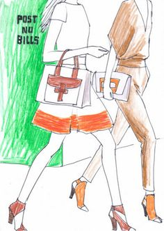 Fashion illustration I by Aimee Levy I street style I crayon sketch I pencil @monstylepin