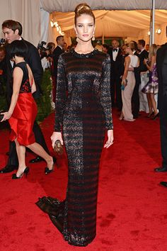 Rosie Huntington-Whiteley Met Gala 2012