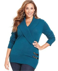 Plus Size Sweaters at Macy's - Womens Plus Size Sweaters - Macy's ...