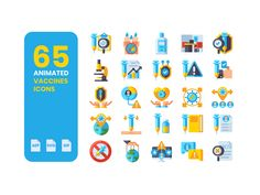 Get your hands on the 100% Free 65 #AnimatedVaccineIcons. Created with love to help spread #awareness about the importance of #vaccines, especially during #COVID19. Spread the word and boost your designs! #GIF #VaccineIcons #AnimatedGIF Animated Icons, Animated Gif, 100 Free, Icon Set, Your Design, Animation, Hands, Image, Animation Movies