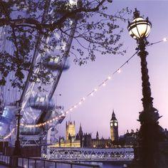 London lights -- river