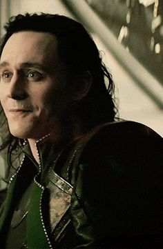 Loki smilecrying----I didn't notice it before, but he is about to cry! That makes even more sad!<-I did...this was right after they fought about who was responsible for Frigga's death; how could he NOT cry? He loved her so much. She was the only one who ever believed in him & loved him unconditionally.